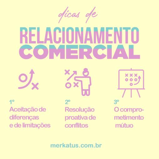 dicas de relacionamento comercial